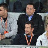 Pepón Nieto en el Madrid Open de Tenis