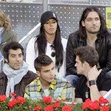 Marbelys, Rafa Méndez, Jorge Fernández, Maxi Iglesias y Gonzalo Ramos