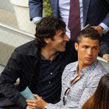 Cristiano Ronaldo en el Madrid Open 2010