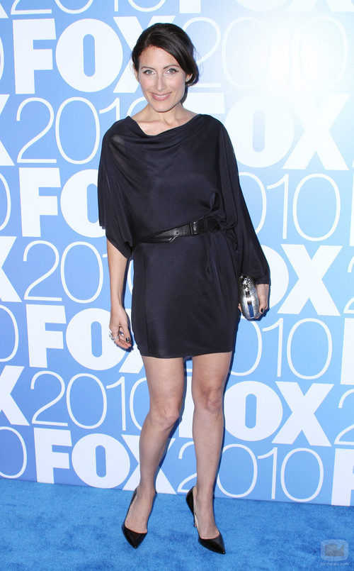 Lisa Edelstein en los Upfronts 2010