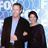 Hugh Laurie y Lisa Edelstein