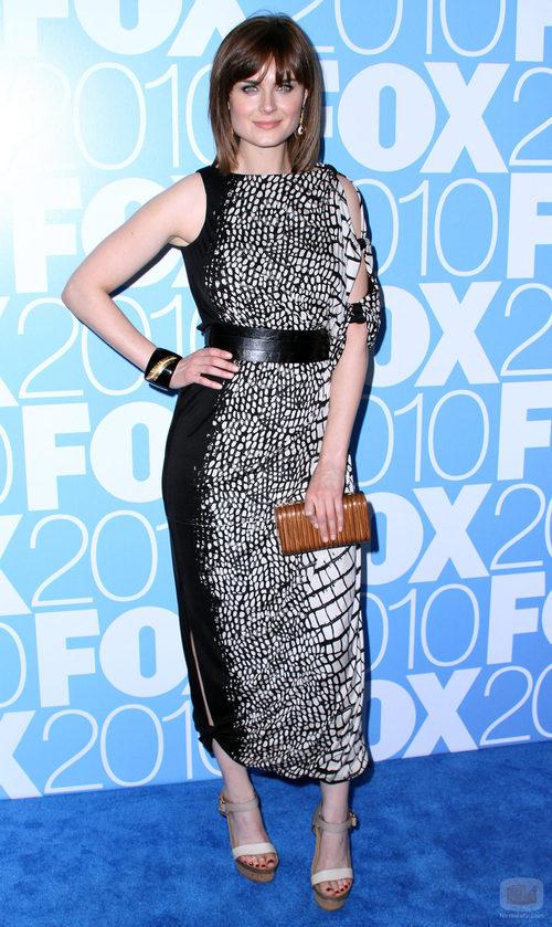 Emily Deschanel en los Upfronts de 2010