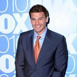 El actor David Boreanaz en los Upfronts de 2010