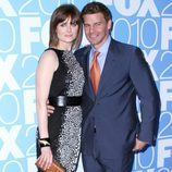 Emily Deschanel y David Boreanaz