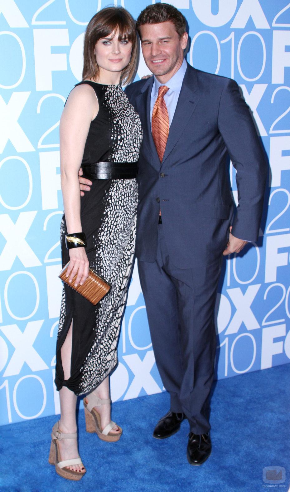 Emily Deschanel y David Boreanaz