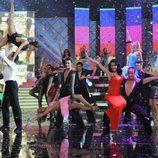 Pilar Rubio baila en la final de 'MQB'