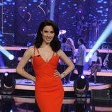 Pilar rubio, de rojo, en la final de 'Más Que Baile'