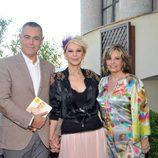 Jordi González, Karmele Marchante y María Teresa Campos