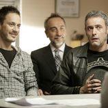 Elio González y Daniel Freire en 'Doctor Mateo'