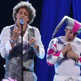Primer ensayo de Daniel Diges en Eurovisión 2010