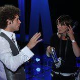 El primer ensayo de Daniel Diges en Eurovisión