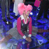 Una bailarina de Diges en Eurovisión abierta de piernas
