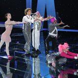 Daniel Diges en Eurovisión: primer ensayo