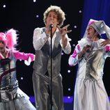 Daniel Diges en su primer ensayo de Eurovisión 2010