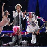 Primer ensayo de España en Eurovisión 2010