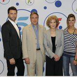 Juanjo Puigcorbé, Marisa Paredes, Fernando Gil y Amaia Salamanca