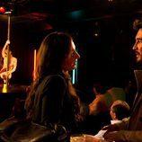 Olimpia y Martín en un club de striptease