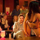 José Manuel Seda y Ana Milán en el club de striptease