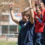 Alegría en el equipo del Zurbarán