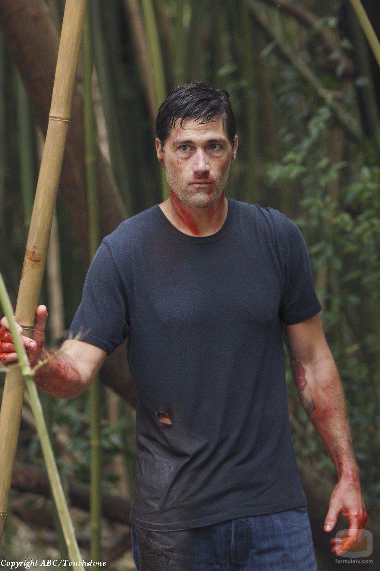 Jack, momentos antes de morir en 'Lost'