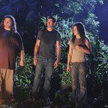 Kate, Sawyer, Jack y Hurley escuchan a Jacob