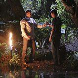 Jacob le da a Jack el agua para hacerle inmortal