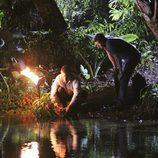 Mark Pellegrino y Matthew Fox en 'Lost'