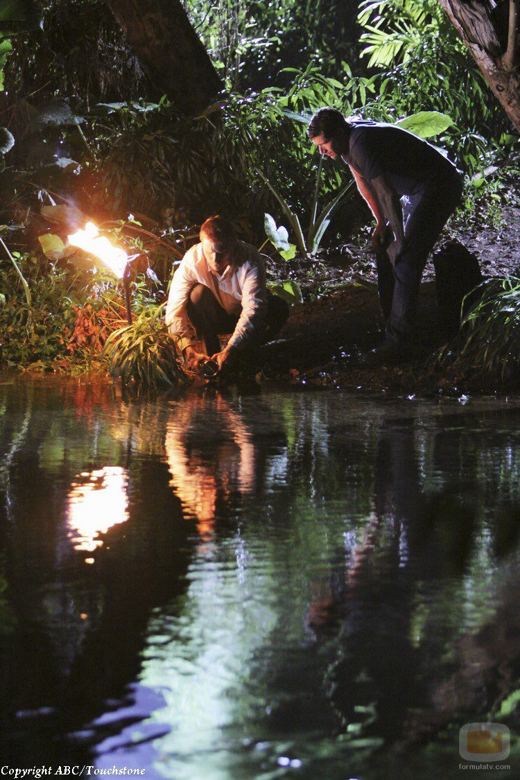 Mark Pellegrino y Matthew Fox en 'Lost'