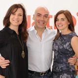 Sonia López, Enrique Sarasola y Carolina Cubillo
