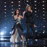 Chanée y N'evergreen en la Final de Eurovisión 2010
