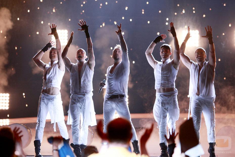 Final de Eurovisión 2010: Giorgos Alkaios and Friends