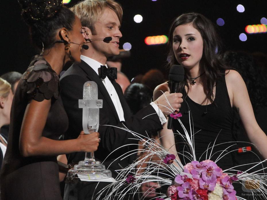 Lena Meyer-Landrut gana Eurovisión 2010