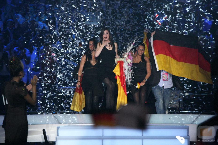 Lena Meyer-Landrut canta por segunda vez en Eurovisión 2010