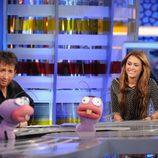 Miley Cyrus con Trancas y Barrancas