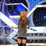 Miley Cyrus baila en 'El hormiguero'