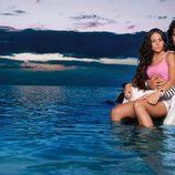 Mario Cimarro y Zuria Vega en 'Mar de amor'