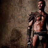 Espartaco en 'Spartacus: Sangre y Arena'