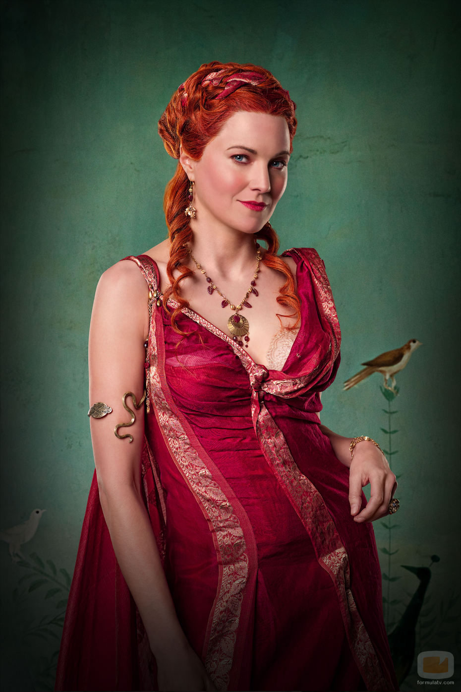 Lucy Lawless en  Spartacus  Blood and Sand Lucy Lawless Lucretia Spartacus
