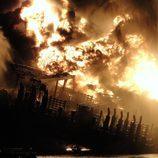 Explosión de la plataforma petrolífera en el Golfo de México
