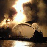 Explosión de 'Deepwater Horizon' en el Golfo de México