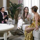 Estela Reynolds, José Manuel Parada y María José Cantudo