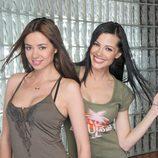 Las hermanas Vero y Claudia