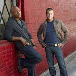 Callen y Hanna, de 'NCIS: Los Angeles'