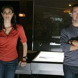 Daniela Ruah y Chris O'Donnell, en 'NCIS: Los Ángeles'