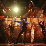 Michael Jackson baila en 'This is it'
