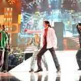 Michael Jackson y sus bailarines