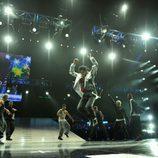 Michael Jackson salta en 'This is it'
