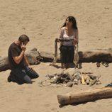 House y Cuddy, románticos en la playa