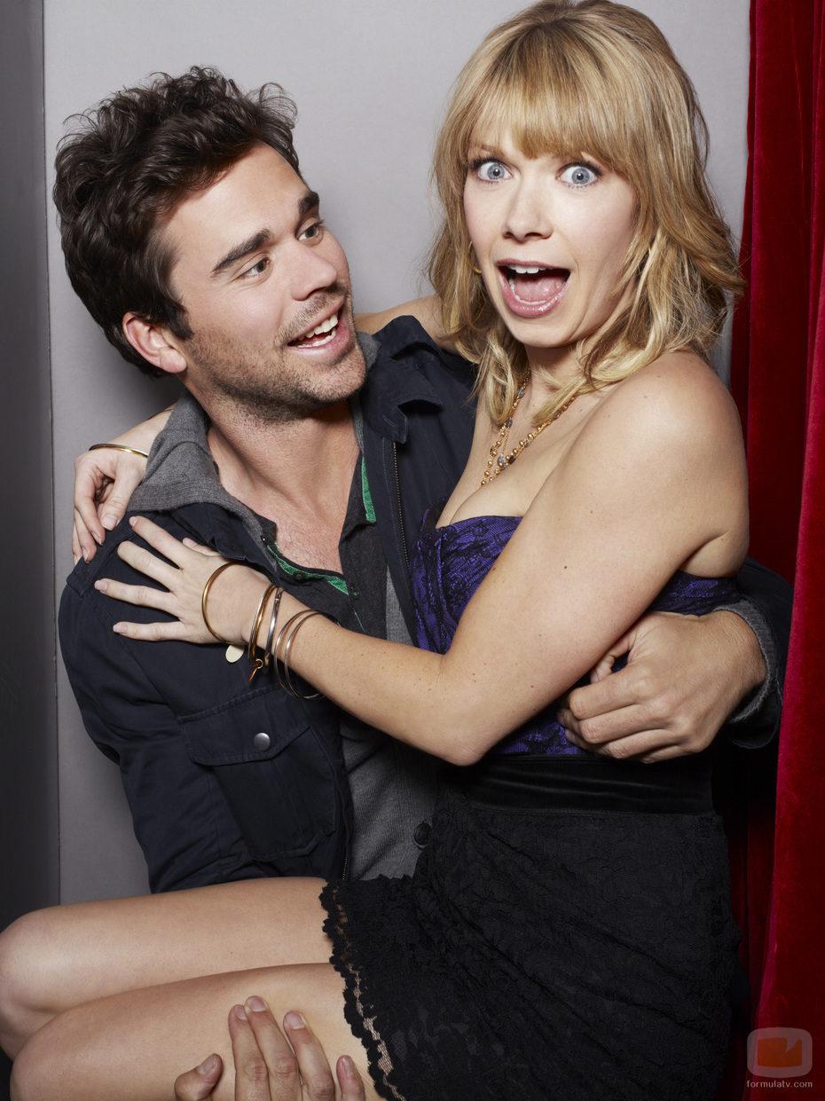 Kyle Howard y Mary Elizabeth Ellis de 'Perfect couples'