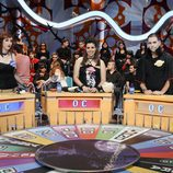 Los concursantes del especial vampírico de 'La ruleta de la suerte'